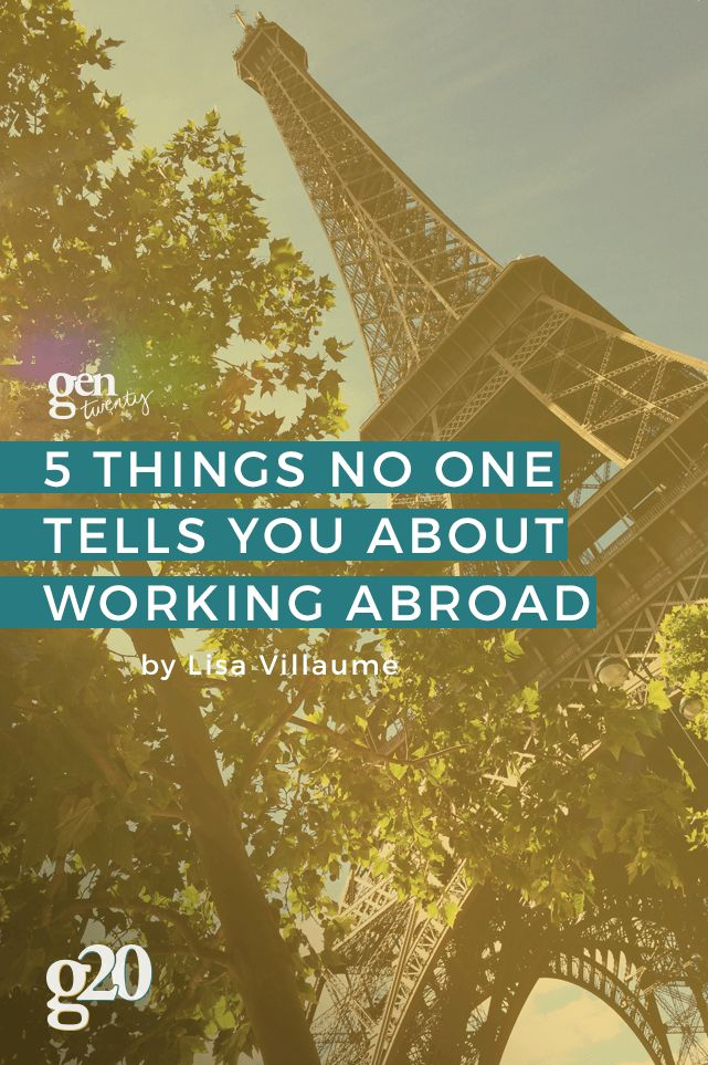 Working abroad is an AMAZING experience. I wish I had known these 5 things ahead of time.
