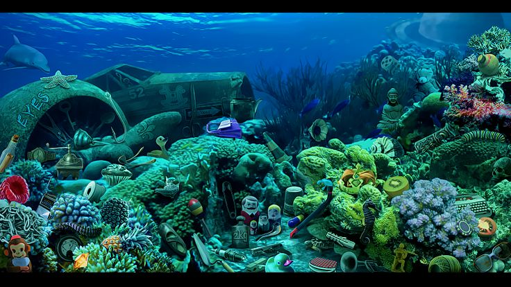Ocean Floor Pictures Landscape Discovered Under