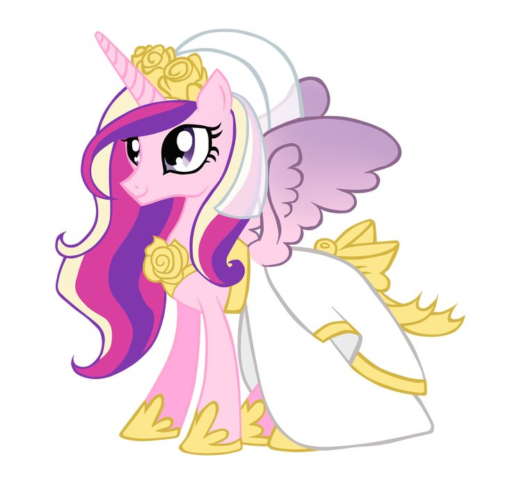 My Little Pony Wedding: My Little Pony Princess Cadence Wedding Dress