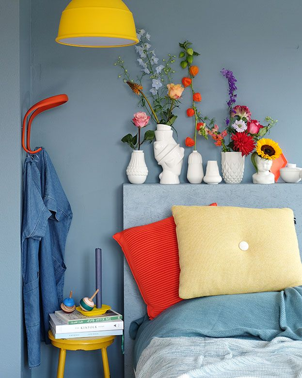 Slaapkamer metamorfose met de kleur van het jaar 2017: Denim Drift