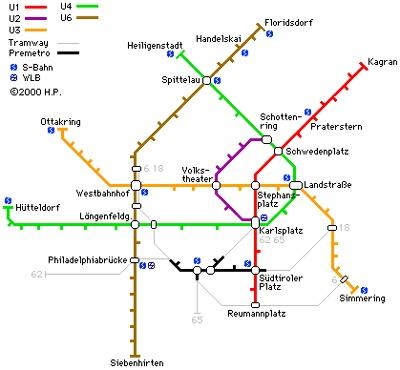 vienna subway... | Maps | Pinterest