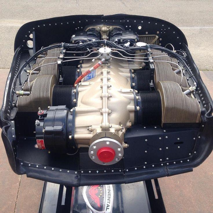 #osh16 #aircraftEngines #continentalMotors #520Series
