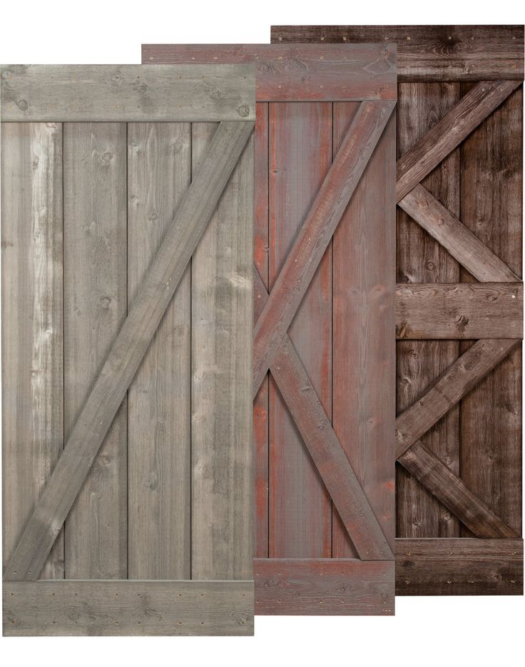 Real Sliding Hardware - Weathered Barn Door, $725.00 (http://www.realslidinghardware.com/weathered-rustic-barn-door/)