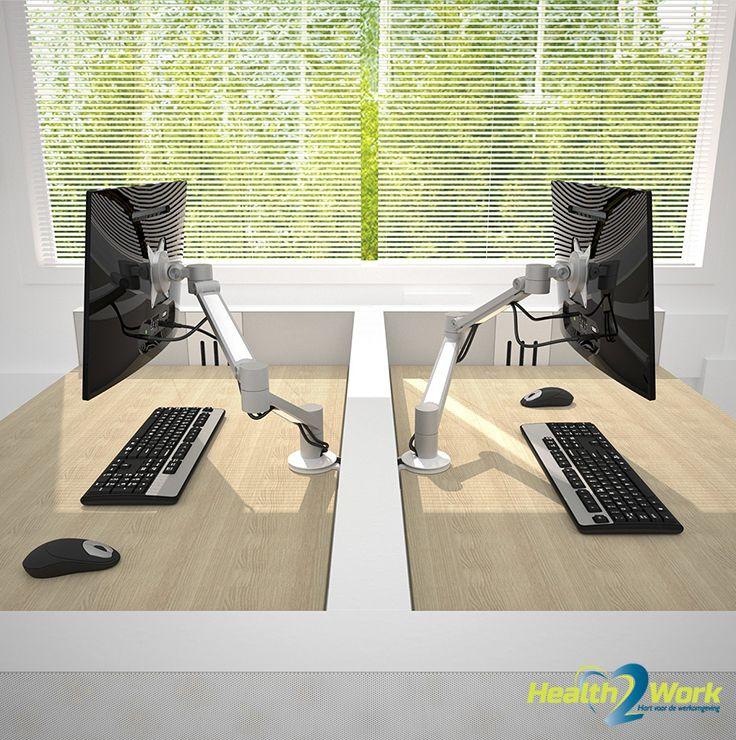 Flexible monitor arm Viewlite Plus from Dataflex