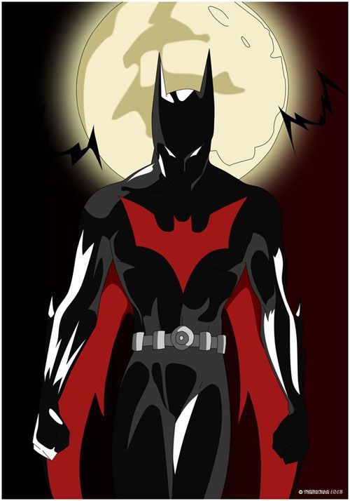 I can never stress enough how awesome I think Batman Beyond is.