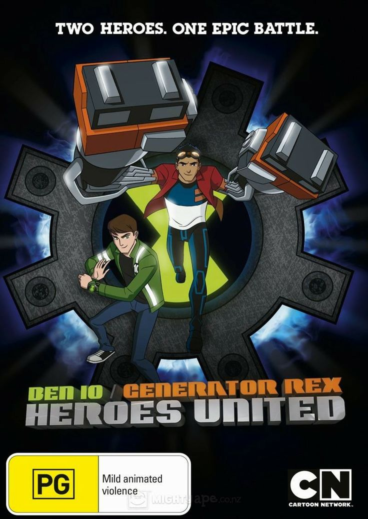 Ben 10: Generation Rex Heroes United WEB-DL - All Movie Blog