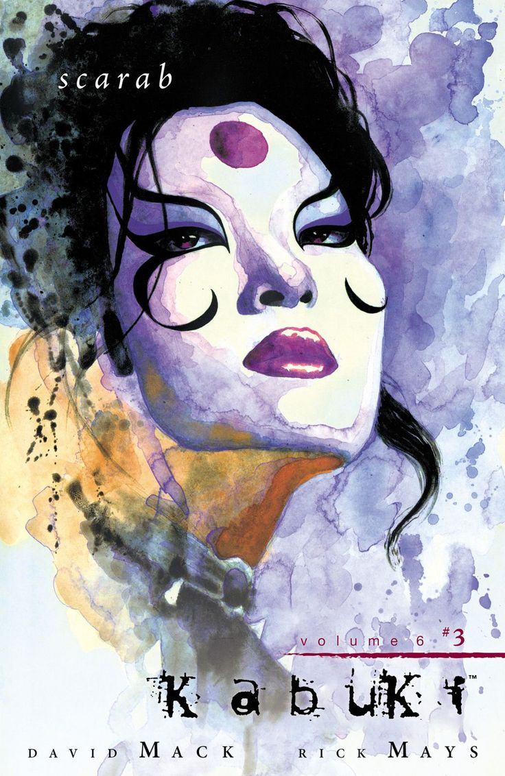 Kabuki Comic Cover