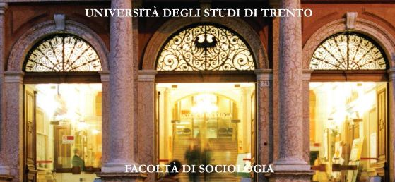 The entrance of the University of Trento, Faculty of Sociology (the my!)