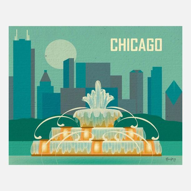 Chicago Print design inspiration on Fab.