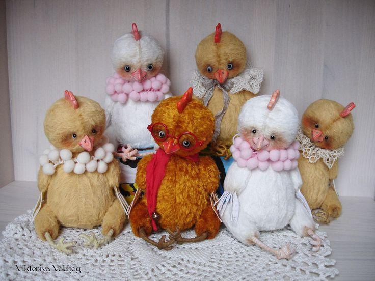 Петушок Тедди к Новому году - Ярмарка Мастеров - ручная работа, handmade