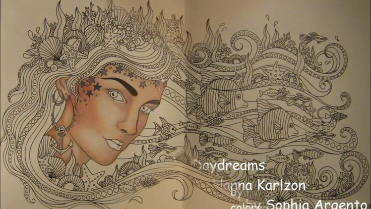 DAYDREAMS by Hanna Karlzon | colored by Sophia Argento