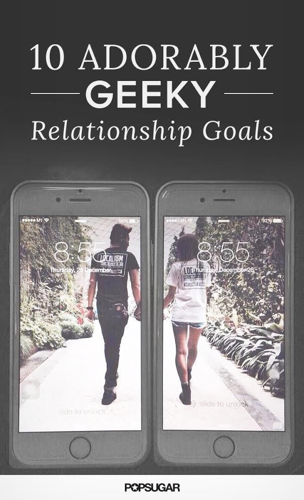 Are you madly in geek love? Good, here are the funniest relationship goals designed just for gamers, nerds, and other geeks.