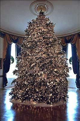 white house christmas trees - Google Search.   What not to do, all the trees used to be glorious. now look we got getto, just sayin...........