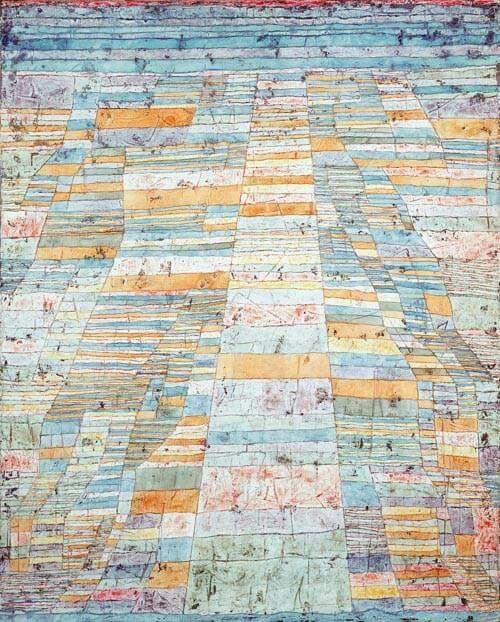 Paul Klee - Strada principale e strade secondarie