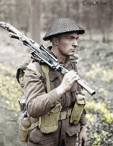 Canadian Bren Soldier Private H.