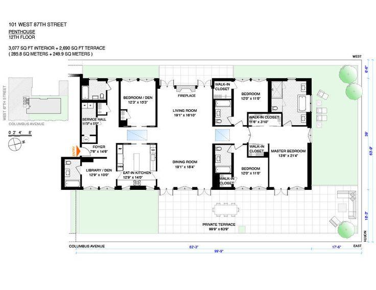 Best Alaprajzok Images On Pinterest Apartment Floor Plans