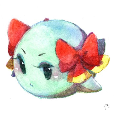 Lady Bow, from Paper Mario: The Thousand Year Door.