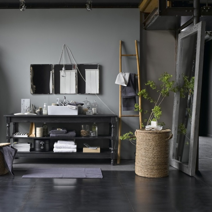 salle de bain version zen. Black Bedroom Furniture Sets. Home Design Ideas