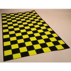Black Diamond Scooter Grip Tape - Black / Yellow Checkers