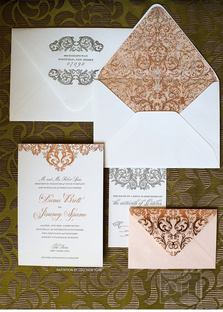 Our Muse - Romantic Rose Gold Wedding - Be inspired by Dana & Jimmy's romantic rose gold wedding at the Pierre in NYC - wedding, rose gold, ...
