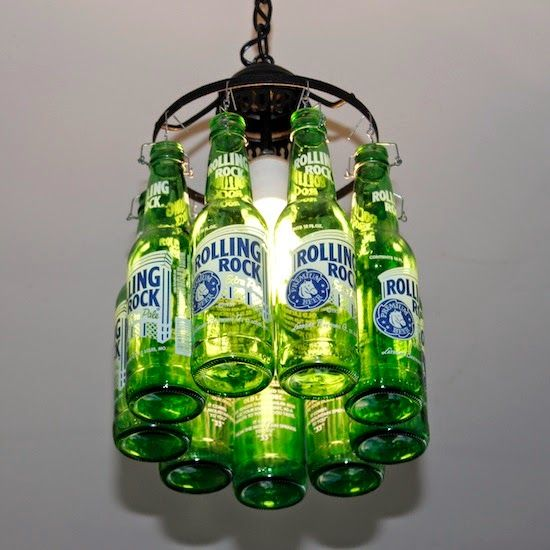 Beer Bottle Lamp Do It Yourself Ideas And Projects