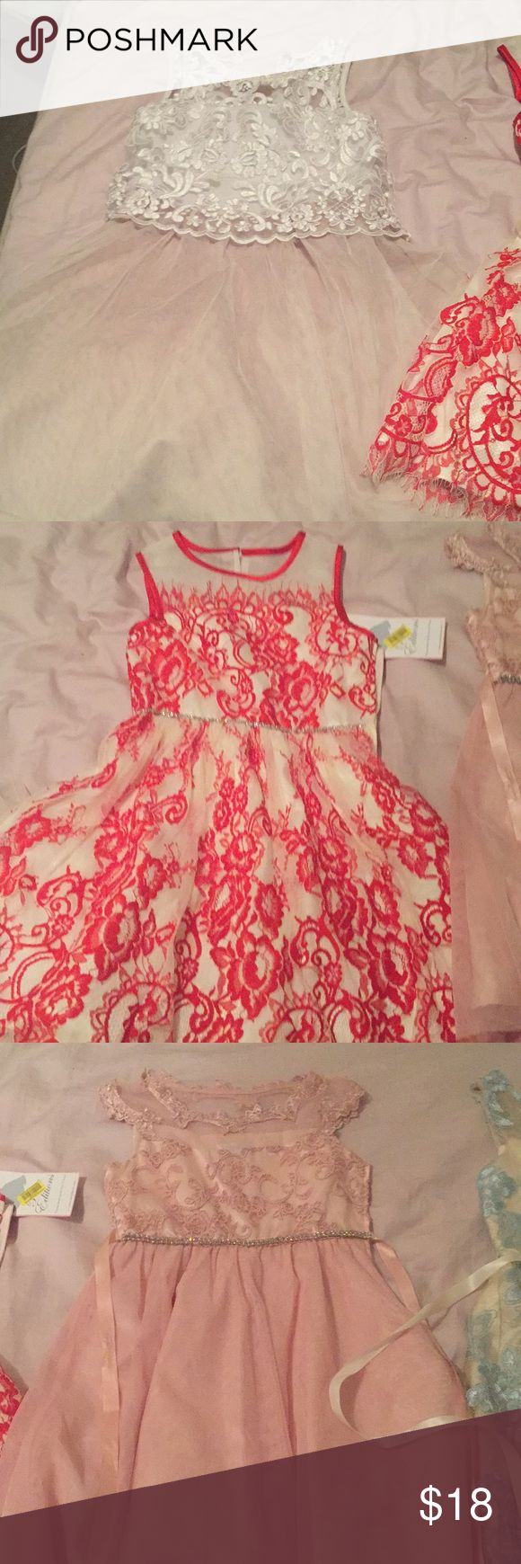 Gorgeous bundled dresses...size 8 and 10 Perfect dresses for a nice outing dillards Dresses Formal