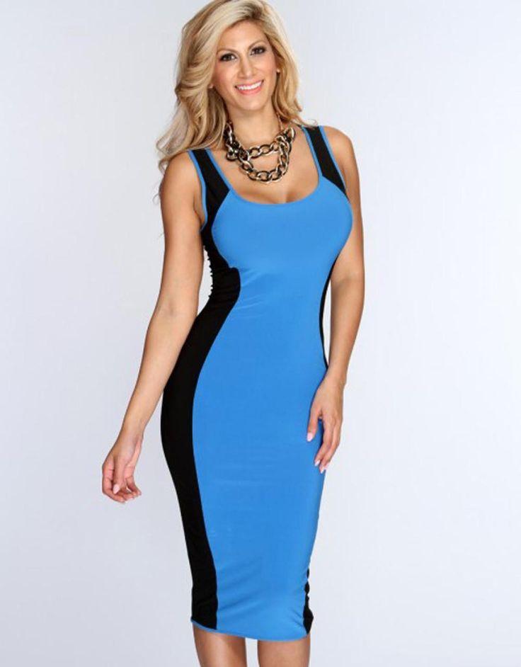 Women Midi Dress New Arrival Fashion Women Casual Bodycon Dress W84521