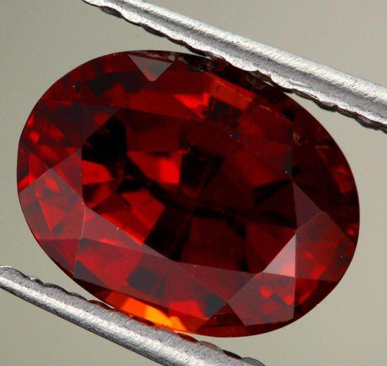 2.05 cts CERTIFIED Natural Spessartite Garnet (Y35665) | gemstones | garnet | faceted gemstone