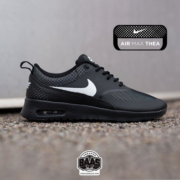 #nike #airmax #thea #black #sneakerbaas #baasbovenbaas  Nike Air max Thea ''Black'' - Available online, priced at € 119,99  For more info about your order please send an e-mail to webshop #sneakerbaas.com!