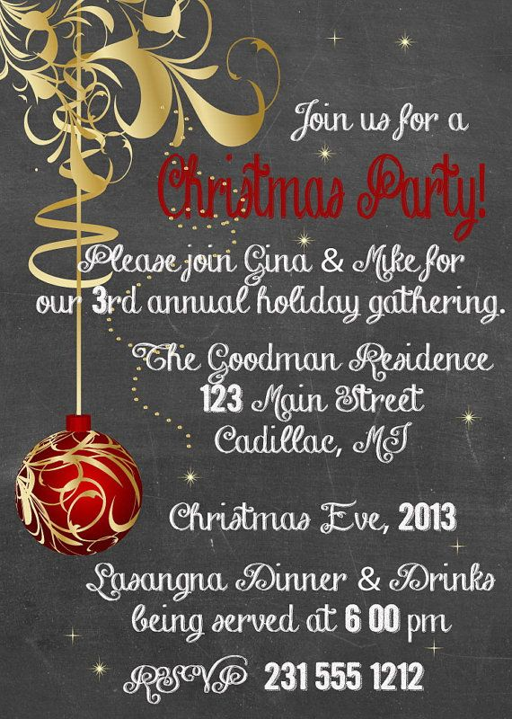 20 best Holiday Cookie Exchange Invitations images on Pinterest