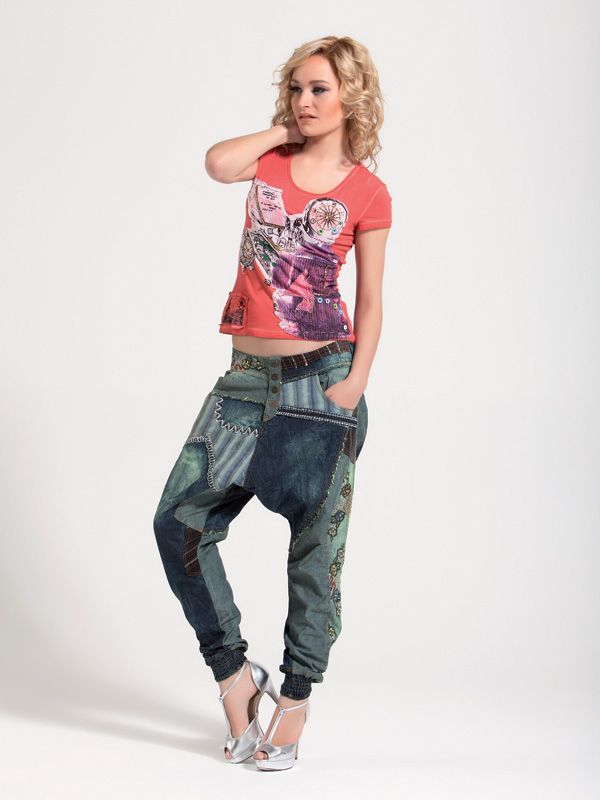 Harem pants. Street wear. Relaxed and cool! www.cladu.fi