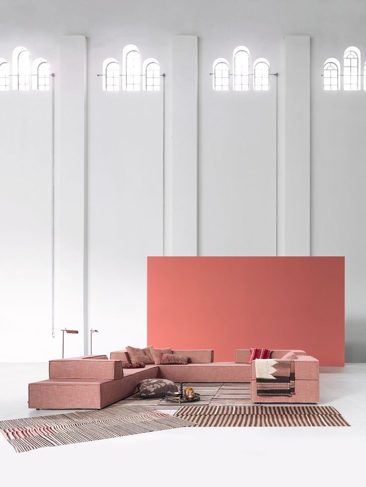 The Designers Karl Odermat And Franz Hero   Team Form Ag, Has Developed A  Corner Sectional Fabric Sofa Special For COR Sitzmöbel Helmut Lübke.