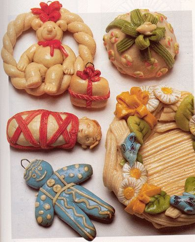 Holiday salt dough ideas