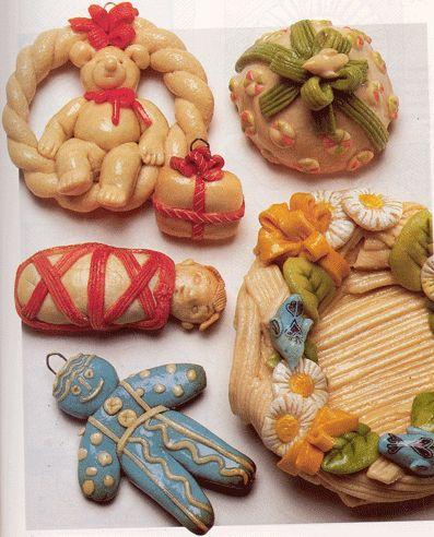 35 best images about salt dough on pinterest for Salt dough crafts figures