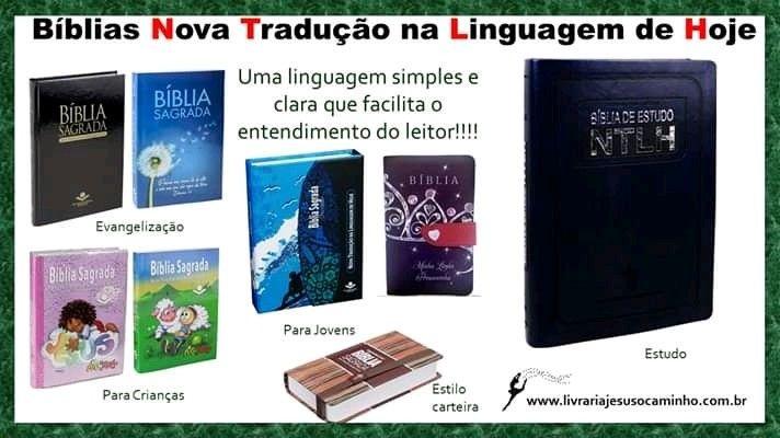 Diversos Modelos De Biblias Na Nova Traducao Na Linguagem De Hoje