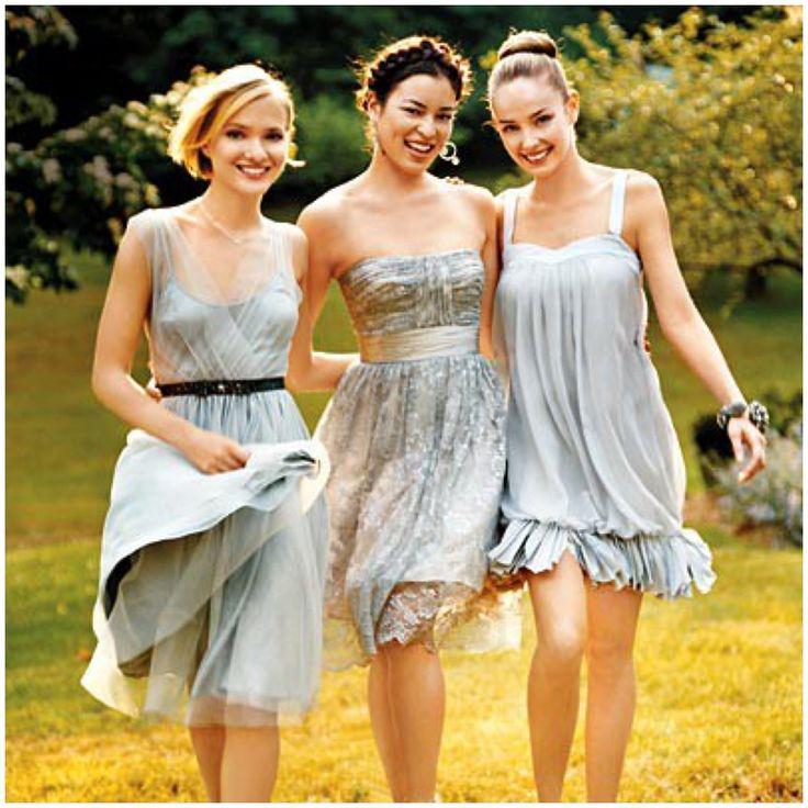 10 Best images about Bridesmaids on Pinterest  Mismatched ...