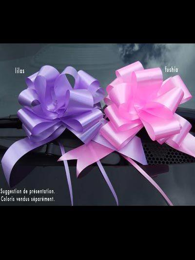 10 Noeuds automatiques classiques lilas ou fushia