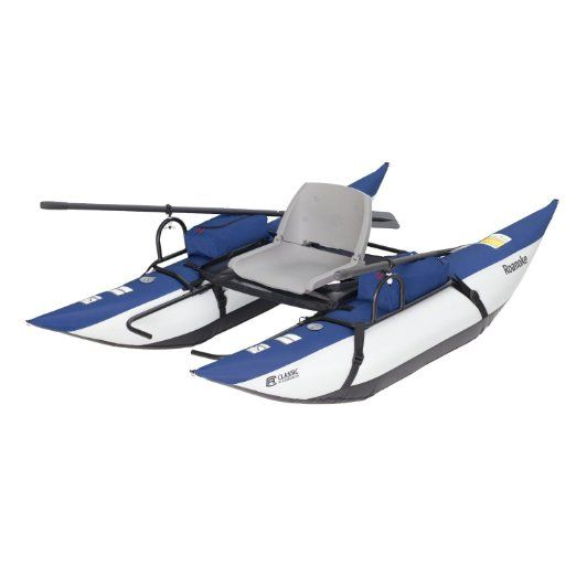 Classic accessories roanoke inflatable pontoon boat for Portable fishing boat
