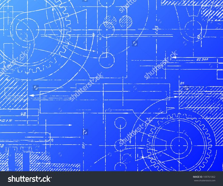 Rolled House Blueprints and Construction Plans - stock photo - copy blueprint network design