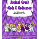 Having trouble finding materials suitable for teaching ancient Greek gods and goddesses to elementary students? This set of game cards and min-post...