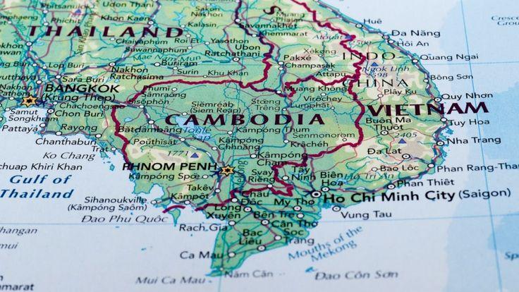 أين تقع كمبوديا Where Is Cambodia Cambodia Map
