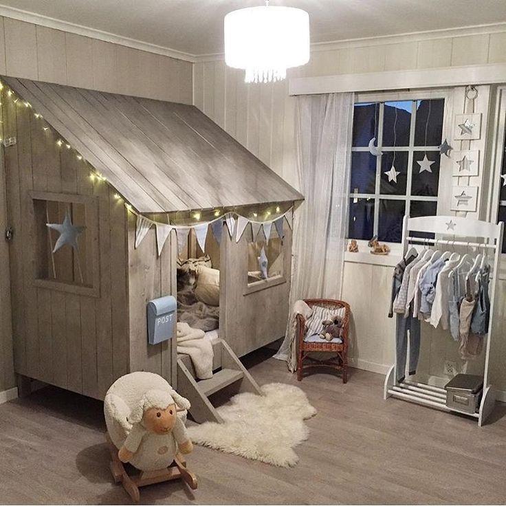 Spielhaus Aus Holz DIY Für Das Kinderzimmer
