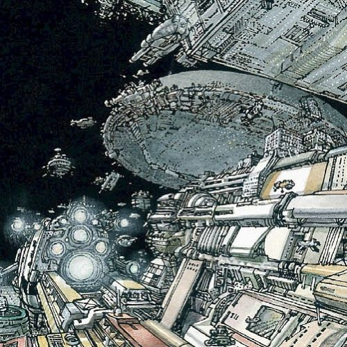 Looks like someone has a case of the #metabaronmonday 's ! Let's cheer you up with this view of space drawn by #DasPastoras in today's #panel from #metabarons #genesis #castaka !! Another great tale set in the #jodoverse !! #scifi #space #jodorowsky...