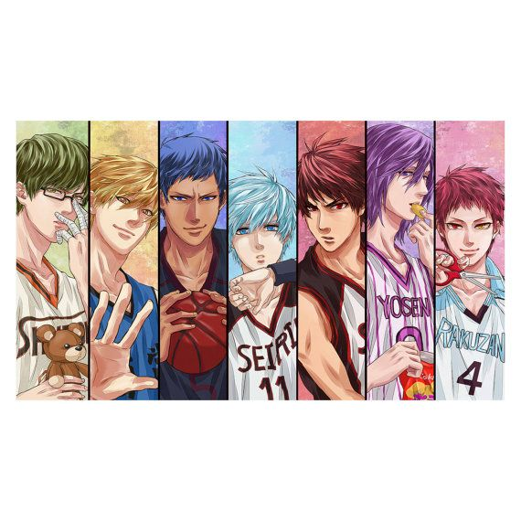 Hey, I found this really awesome Etsy listing at https://www.etsy.com/listing/226915666/kuroko-no-basket-anime-basketball-manga
