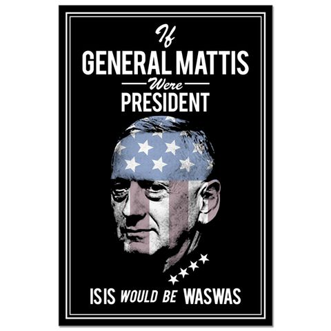 Poster - General Mattis ISIS Hunter