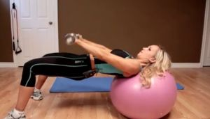 Pullover for lats → http://www.flaviliciousfitness.com/blog/2012/05/23/home-exercise-substitutions/  #exercise #fitness #lats