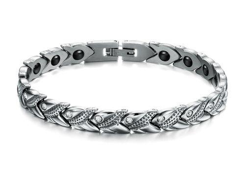 Bracelet magnétique en titane
