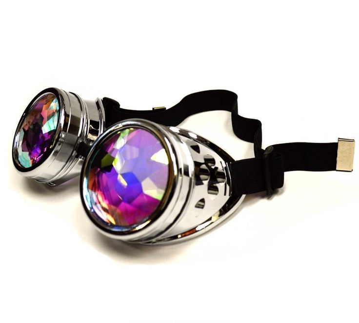 Cyborg Steampunk Rave Goggles