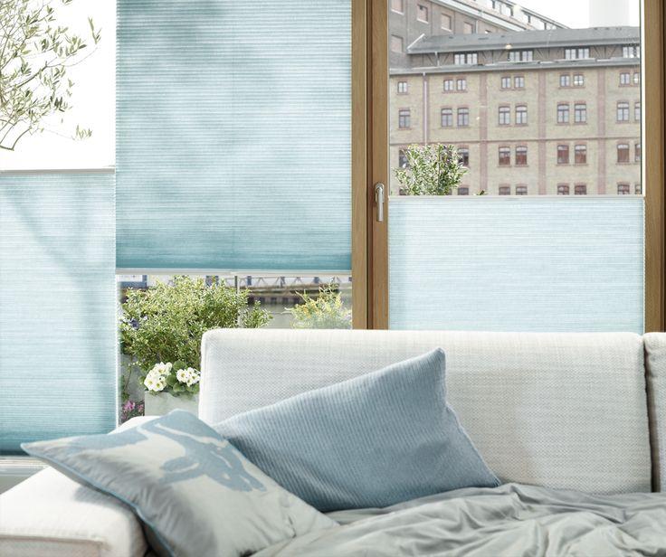 Inspirational Plissees und Wabenplissees von LEHA bieten zeitgem en Sonnenschutz mit unverwechselbarem Bedienkomfort und vielseitigen Befestigungsoptionen