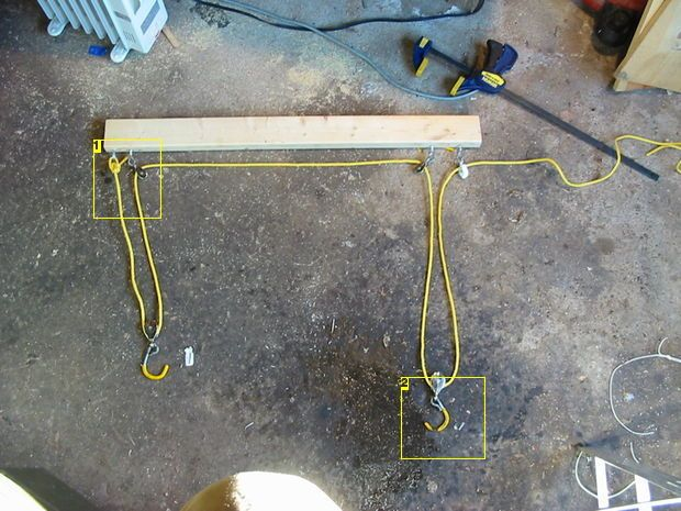 Bicycle Hoist Or Quot How To Get The Wife S Bike Out Of My Way